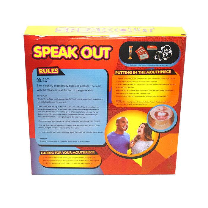 Настольная игра Speak Out (Скажи если сможешь)