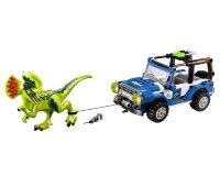 """Конструктор Jurassic World """"Засада на Дилофозавра"""" 259 дет.LELE 79093"""