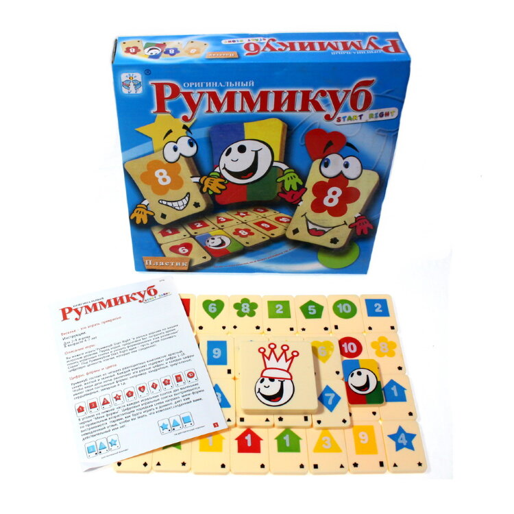Настольная игра Руммикуб