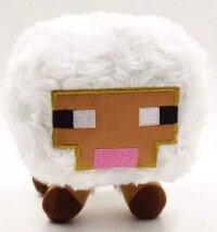 Мягкая игрушка  Майнкрафт Овца 14 см с присоской