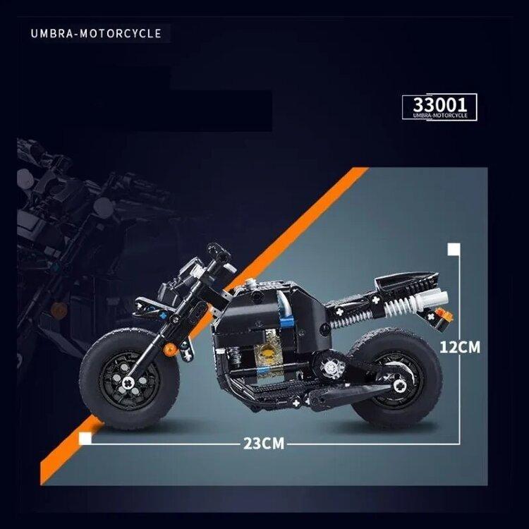 """Конструктор Technic MecFactor """"Спортивный Мотоцикл"""" 265 дет 33001"""