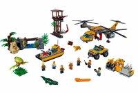 """Конструктор Сити """"Вертолет для доставки грузов в джунгли"""" BeLa 10713 1298 дет."""