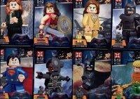 Конструктор Batman v Superman 8 героев с оружием