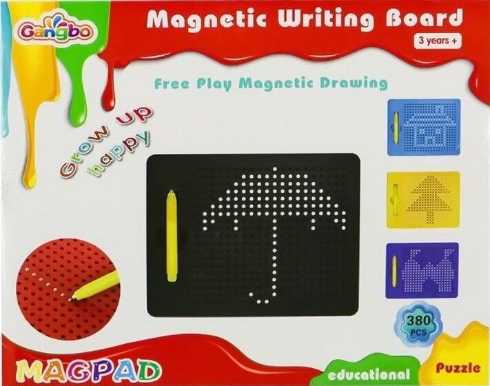 Планшет для рисования магнитами MAGPAD 380 магнитов