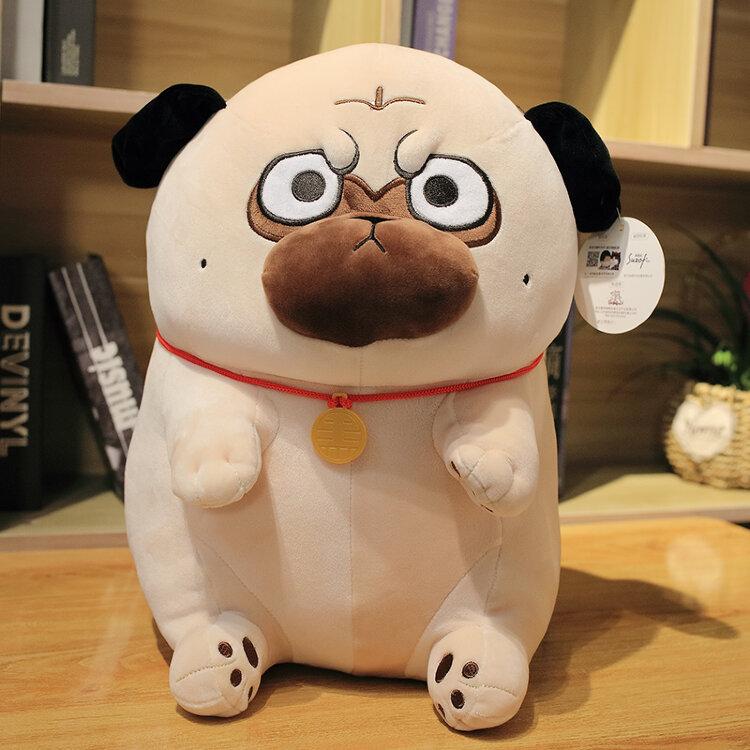 Мягкая игрушка Мопс 40 см.