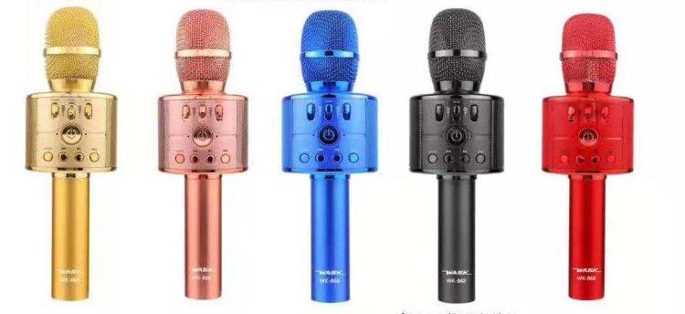 Bluetooth Караоке Микрофон Wask WK-868