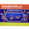 Магнитный конструктор MagWorld 56 деталей