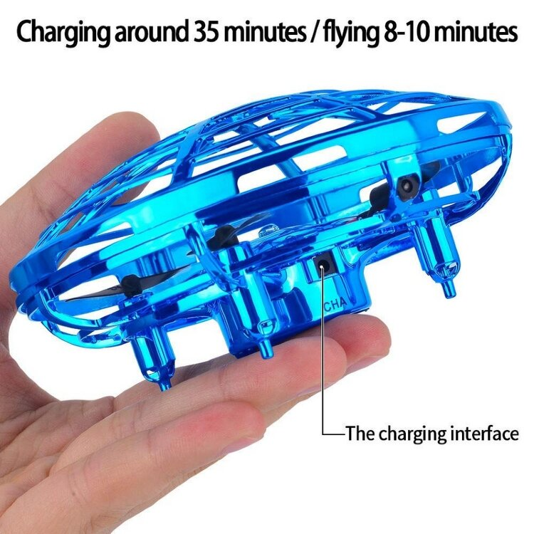 Интерактивная летающая тарелка квадро Ufo Interactive Aircraft