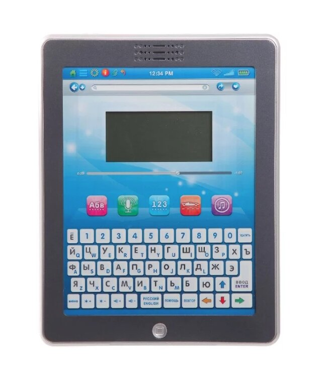 Детский Русско-Английский обучающий планшет 32 функции (Joy Toy 7242)