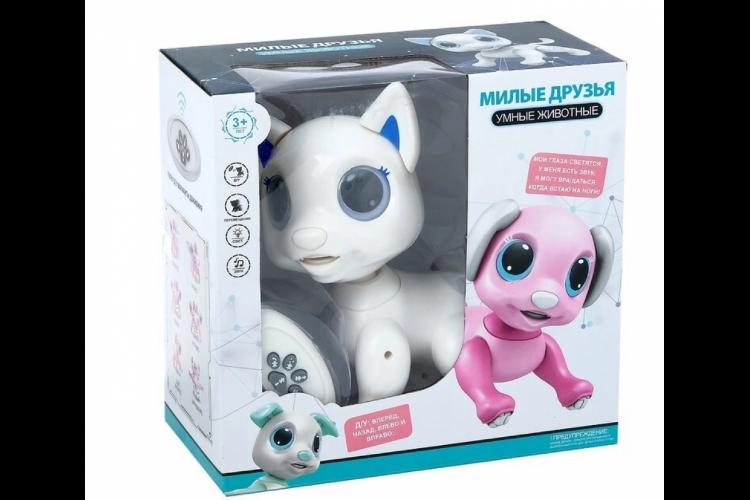 """Интерактивная игрушка """"Умный Котик"""" с пультом"""