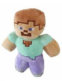 Мягкая игрушка  Майнкрафт Стив 22 см с присоской