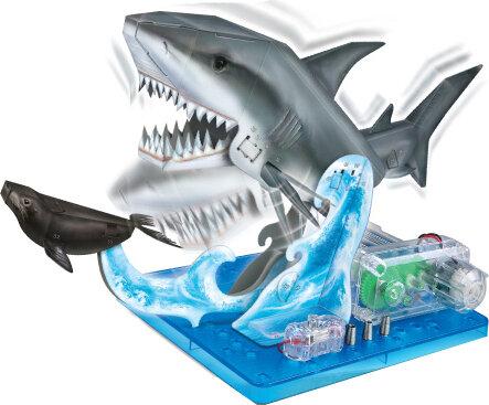 """Набор для научных опытов """"Акула"""" на батарейках"""