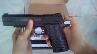 Металлический пистолет  для страйкбола Colt AIR SOFT GUN C10A