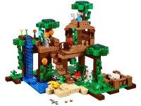 """Конструктор Майнкрафт """"Домик на дереве в джунглях"""" 718 дет. My world 10471"""