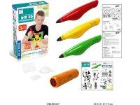 Набор для рисования в 3D LM333-6 (3Д ручка 3 картриджа)