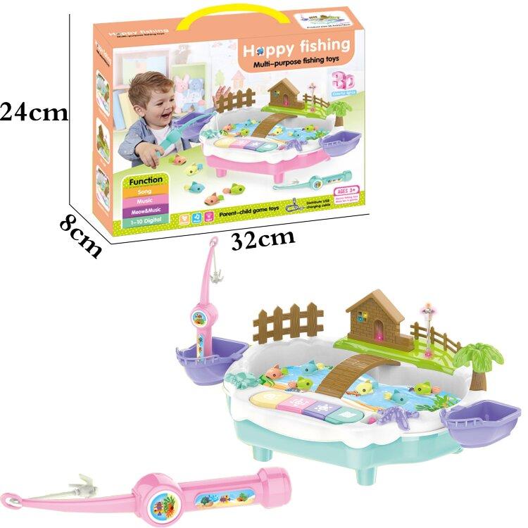 Музыкальная Детская Рыбалка 3д