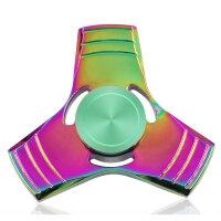 Спиннер Перламутр - три квадратные лопасти (Fidget Spinner)