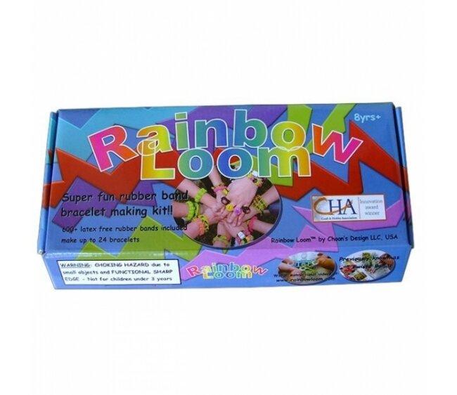 Набор для плетения браслетов Rainbow Loom с профессиональным станком