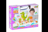 Конструктор мозаика с шуруповертом «Животные»  198 дет. Creative Portable Box