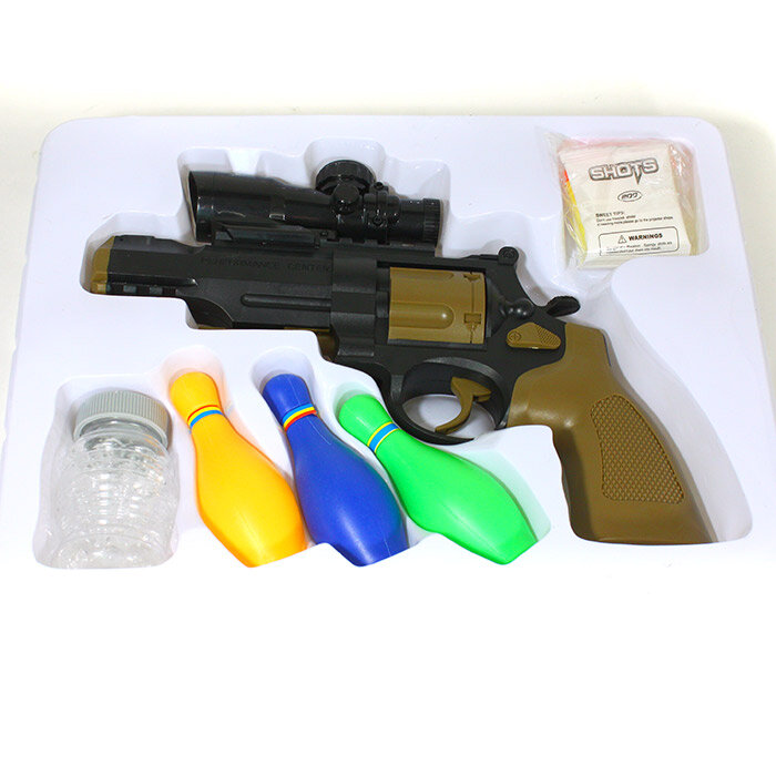 Пистолет с гидрогелем и стрелами