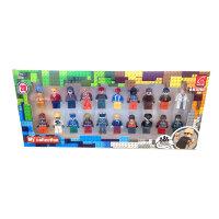 Набор минифигурок для Лего 20 героев