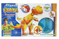 Конструктор-мозаика  «В мире животных» Duolegu toys Magic Plate puzzle