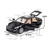 """Машинка металлическая инерционная """"Porsche Panamera"""" 1: 24 21 см."""